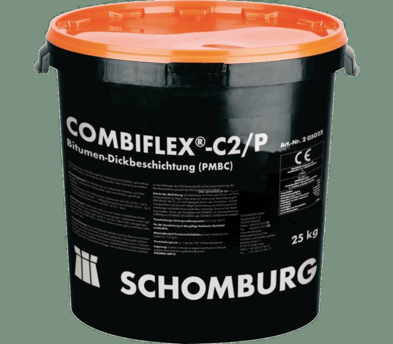2-K Bitumen-Dickbeschichtung COMBIFLEX-C2/P Schomburg