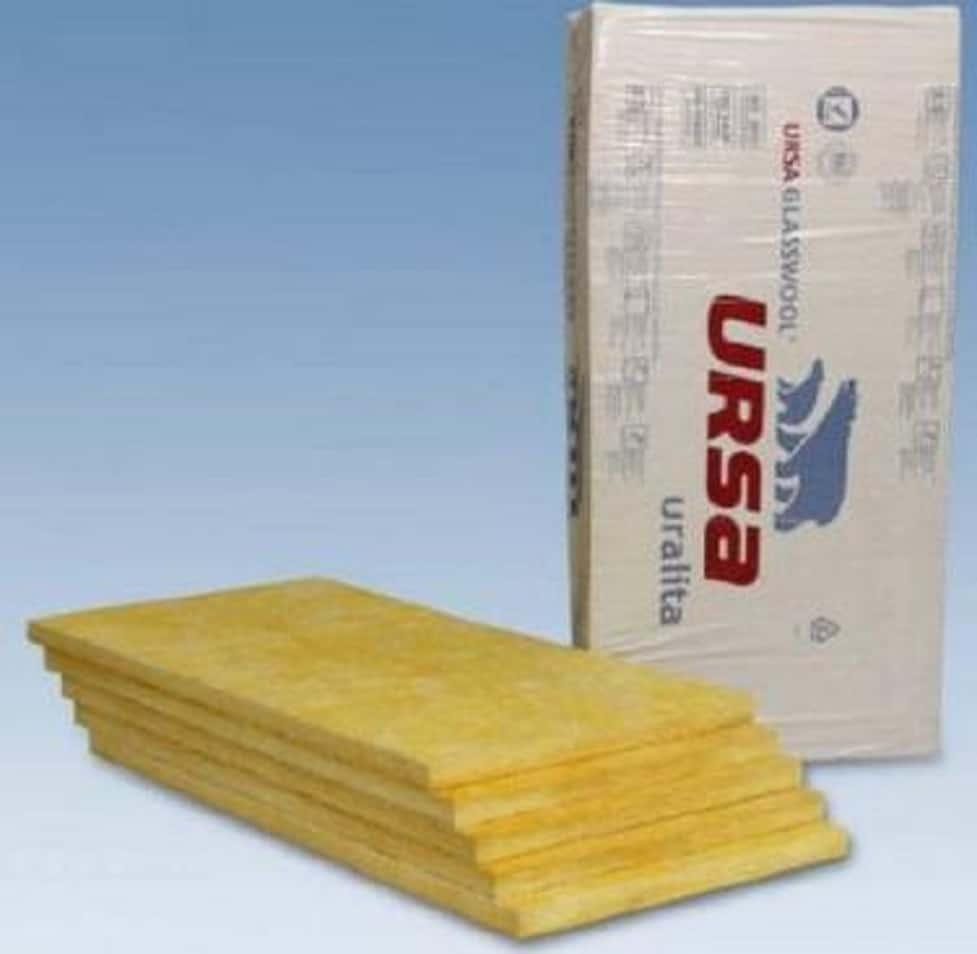 Ursa Trennwandplatten TWP 1 WLG 040 Mineralwolle Platten 40 mm bzw. 80 mm