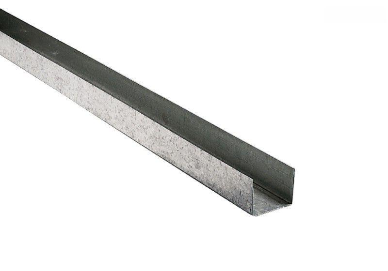 UW-Profil 50 x 40 x 0,6 mm Rahmenprofil - 3 m
