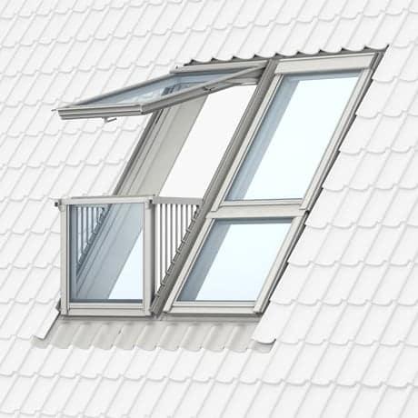 Dachfenster velux cabrio  Velux Cabrio Dachfenster mit Dachaustritt günstig kaufen im ...